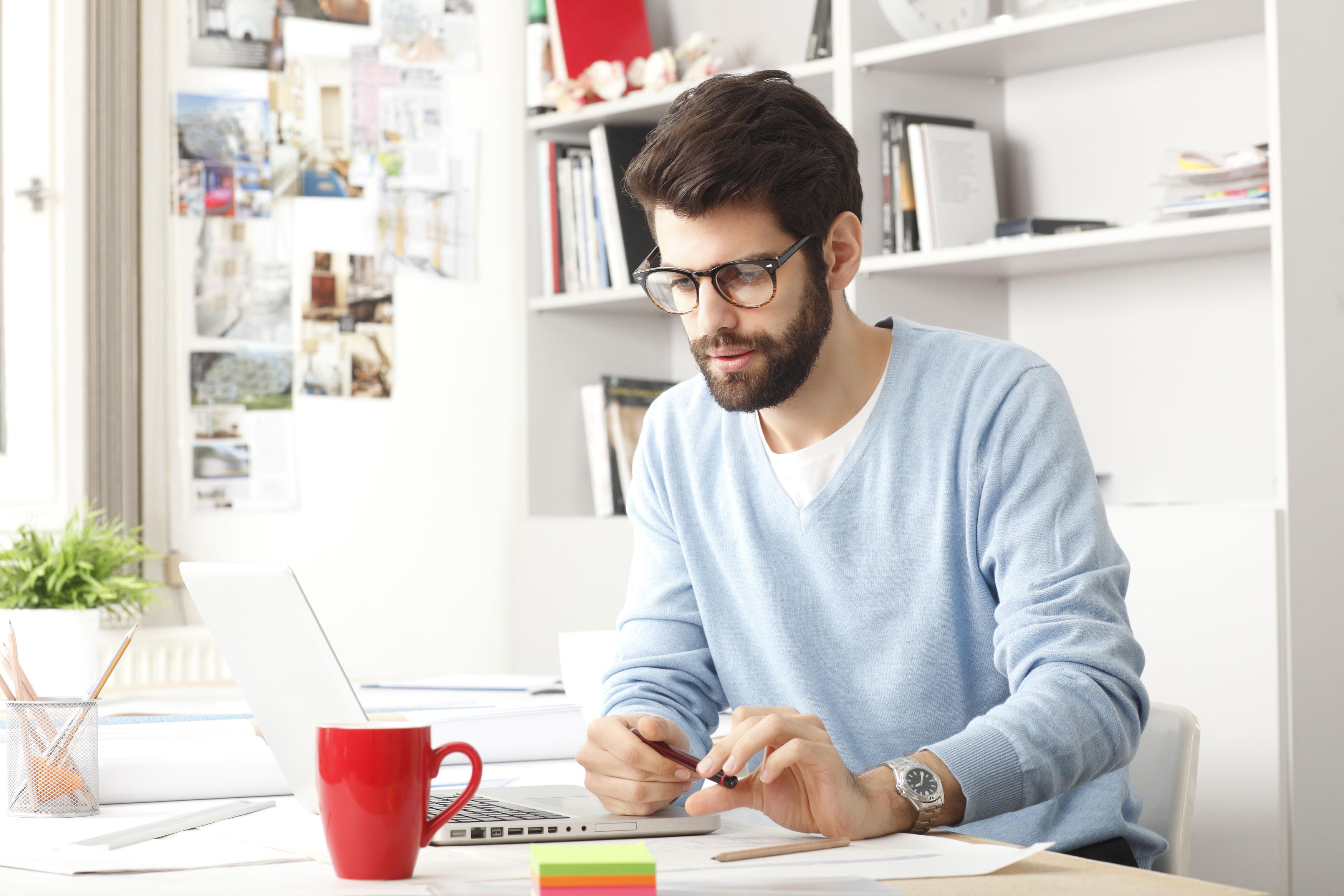 ¿trabajar en casa en la oficina?